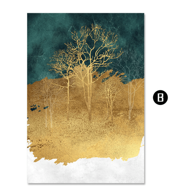 Mystical Enchanted Forest Canvas