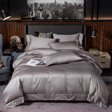 Modern Silky Soft Egyptian Cotton Duvet Cover Set