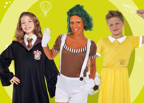 10 BEST WORLD BOOK DAY COSTUME IDEAS FOR EVERYONE | Joke.co.uk