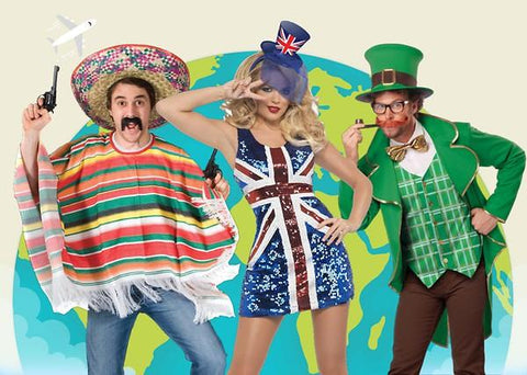 AROUND THE WORLD COSTUMES - HOW TO DRESS LIKE A NATIVE! | Joke.co.uk