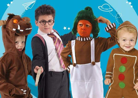 CLASSIC WORLD BOOK DAY CHARACTERS FOR KIDS | Joke.co.uk