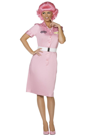 Official Grease Beauty School Drop Out Costume
