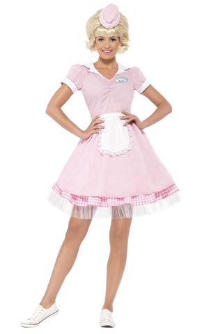 Adult 50s Diner Girl Costume