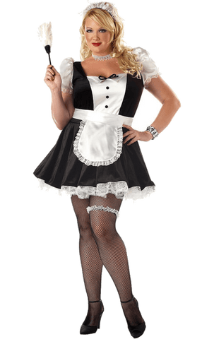 French Maid Outfit (plus size)