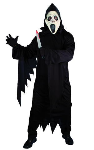 Adult Screamer Gown and Facepiece Costume
