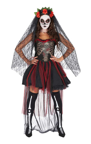 Womens Day of The Dead Dress Costume