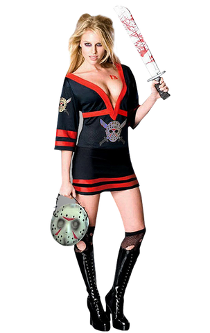 Friday the 13th Miss Jason Voorhees Costume