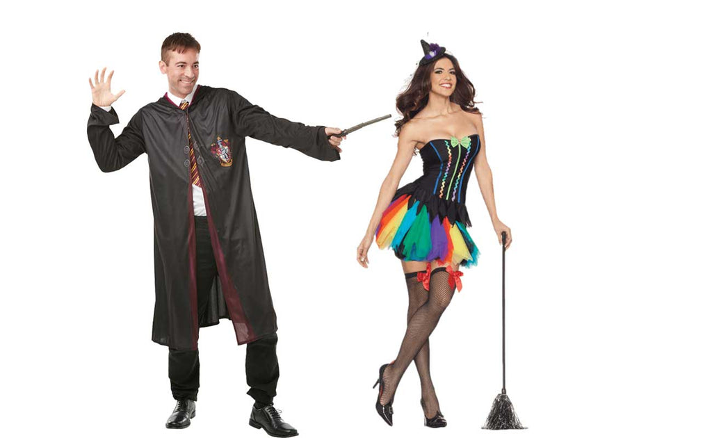 Witch and wizard costume