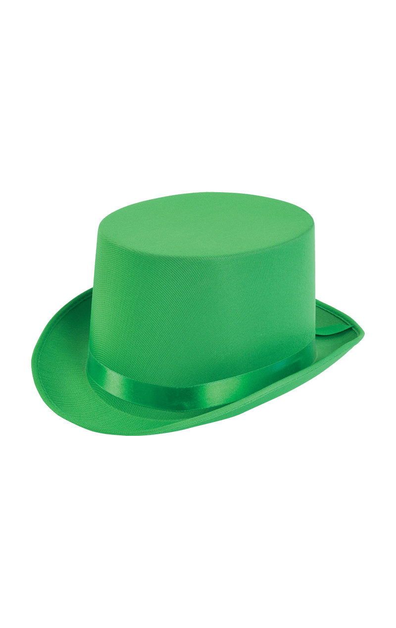 Bright Green Top Hat