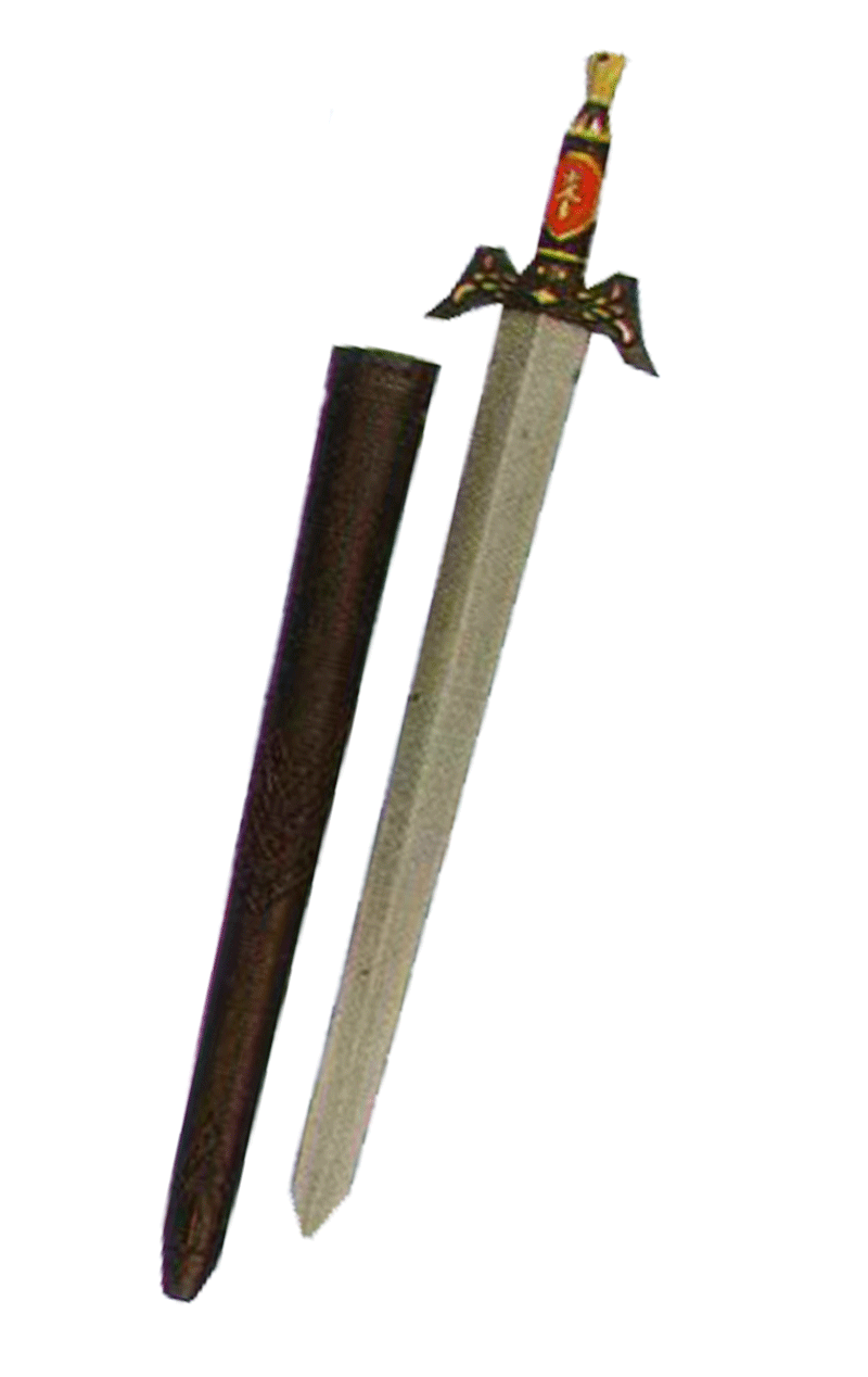 Knight Sword and Scabbard