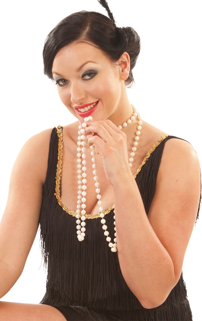 Flapper Beads Necklace