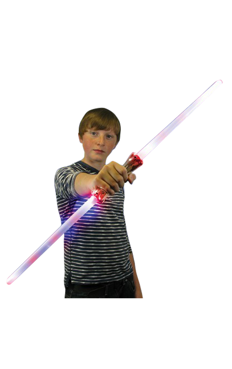 Double Laser LED Sword