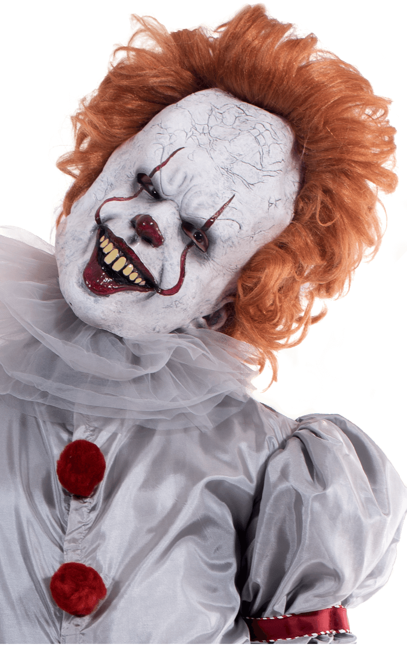 Pennywise Overhead Latex Facepiece