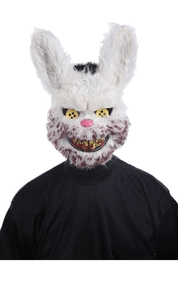 Snowball Bunny Facepiece Accessory