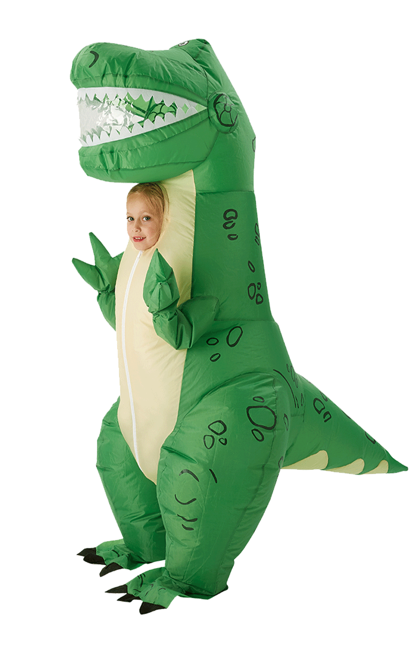 Kids Inflatable Rex Toy Story Costume