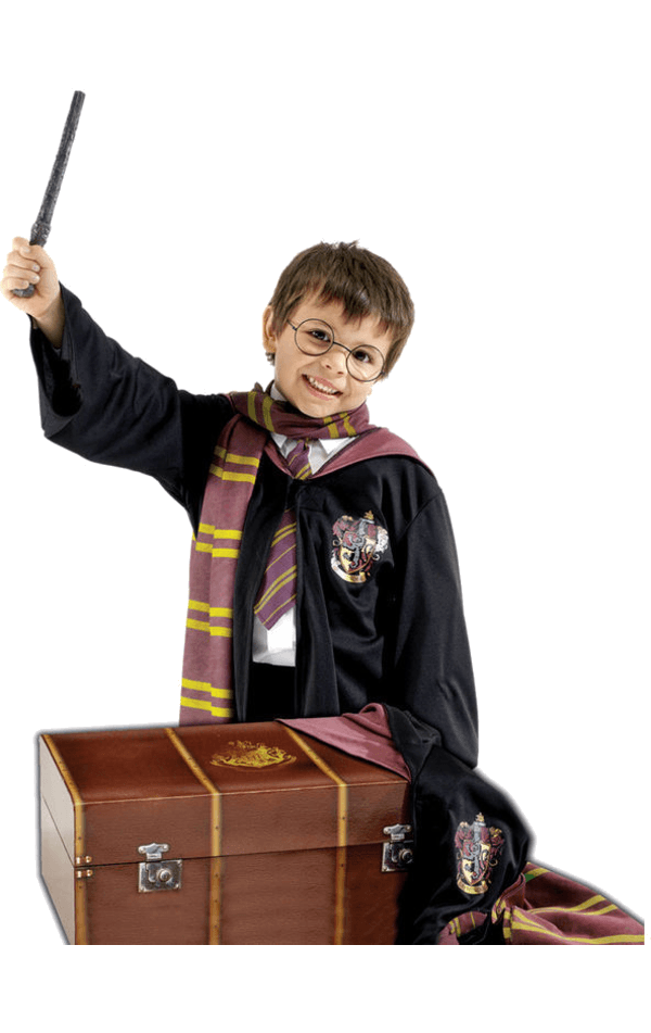 Child Harry Potter Costume and Trunk Set