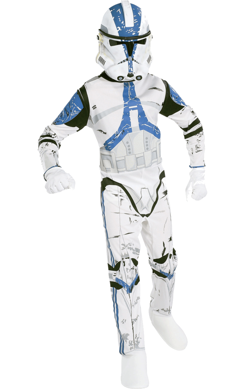 Kids Clone Trooper Star Wars Costume