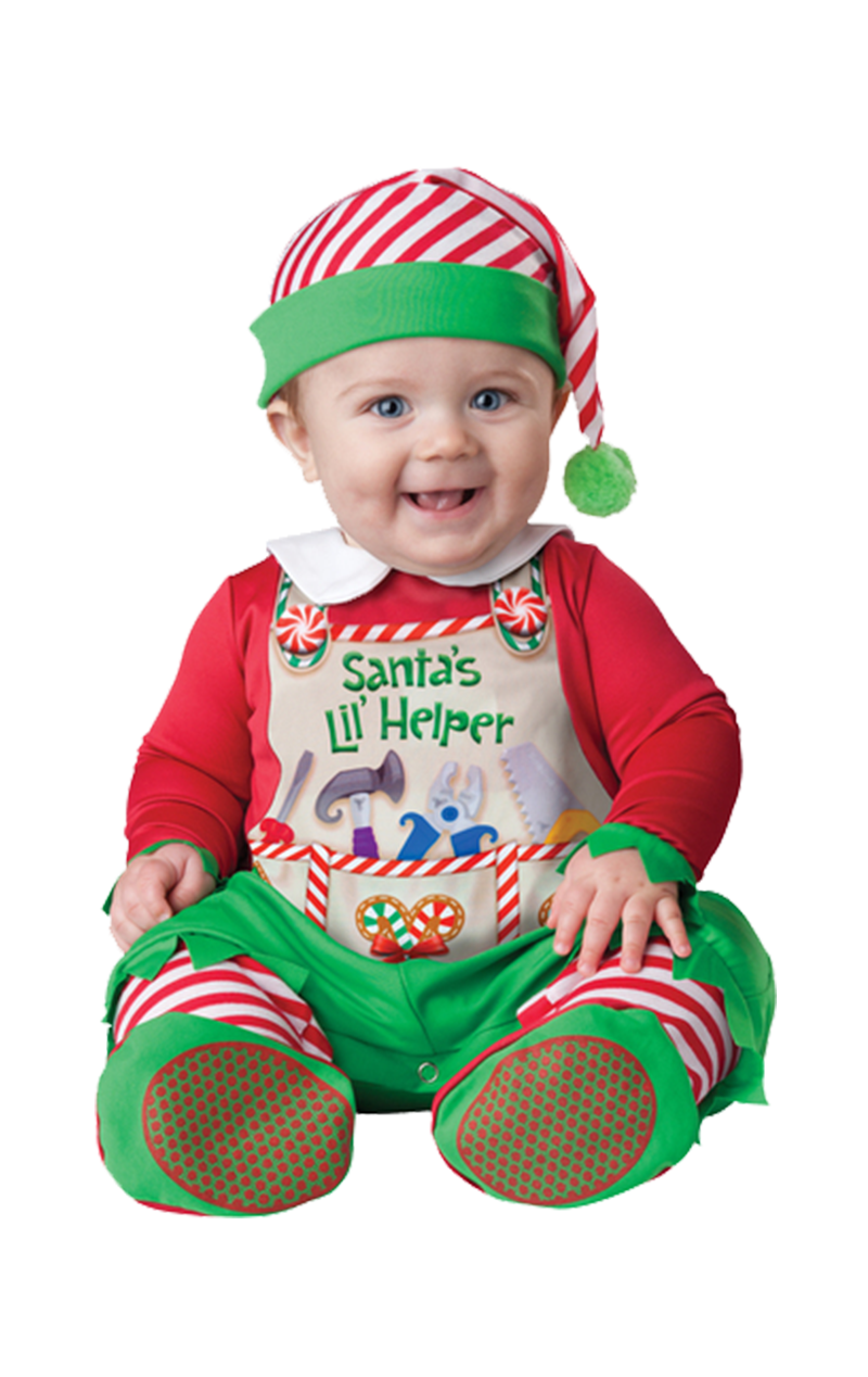 Baby Santas Little Helper Costume