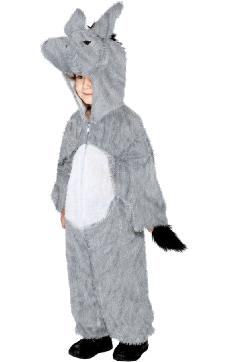 Kids Little Donkey Animal Costume
