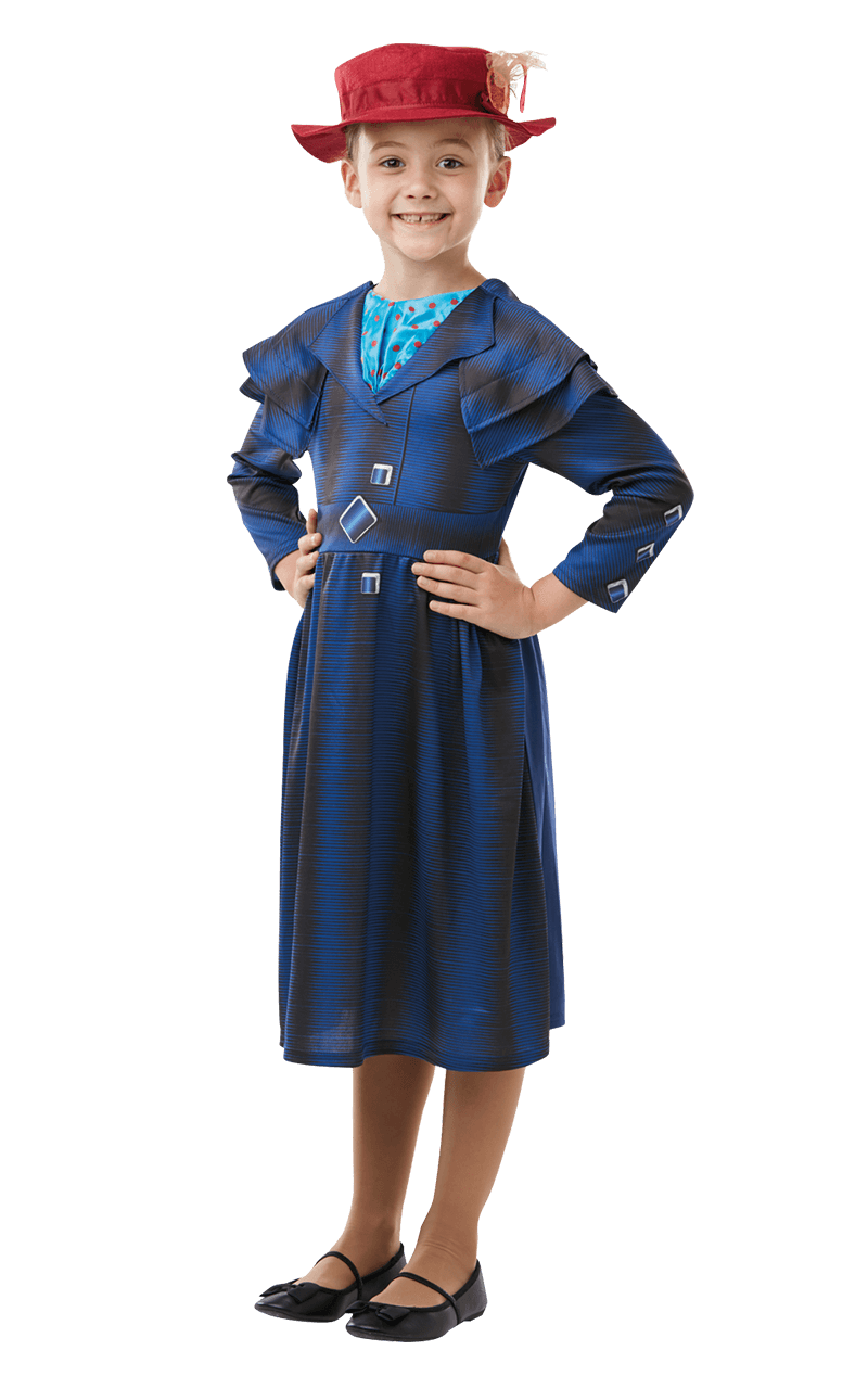 Girls Mary Poppins Returns Costume