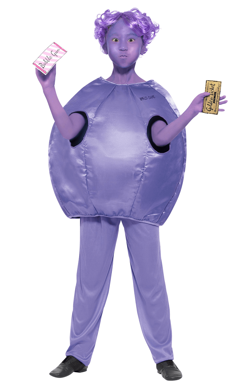 Child Violet Beauregarde Costume