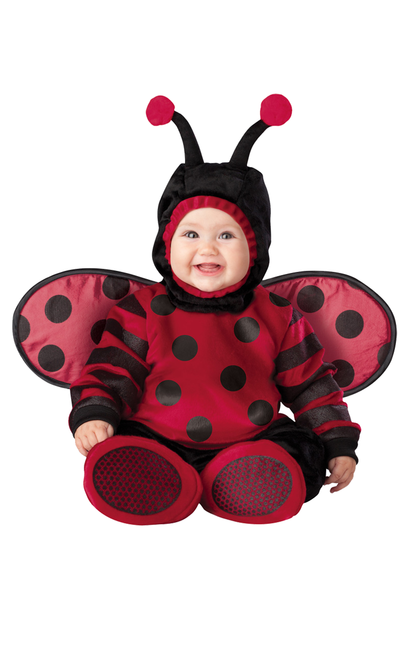 Itty Bitty Lady Bug Baby Outfit