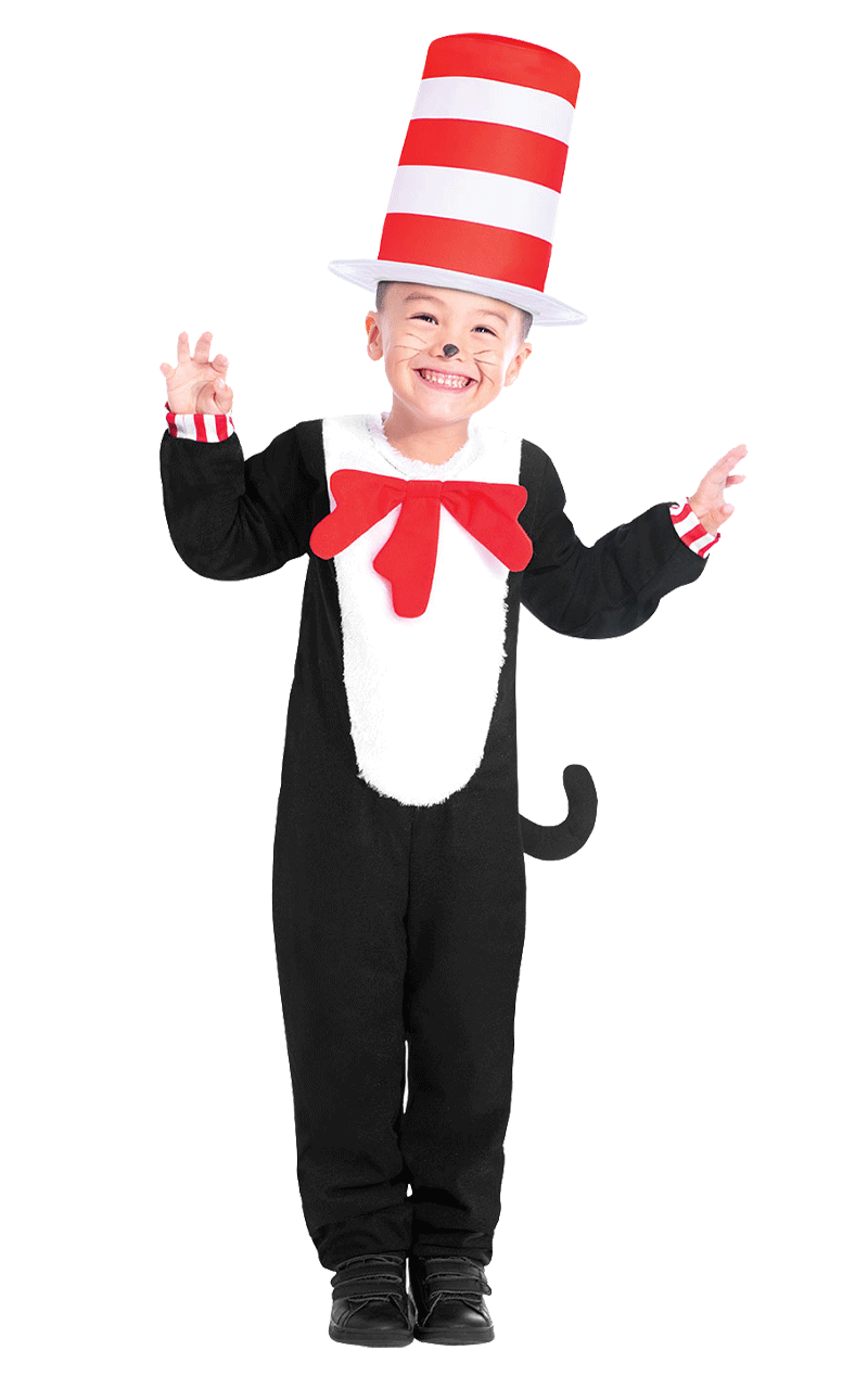 Kids Cat in the Hat Costume