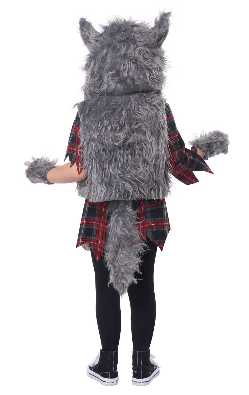 Kids Wee-Wolf Girl Costume