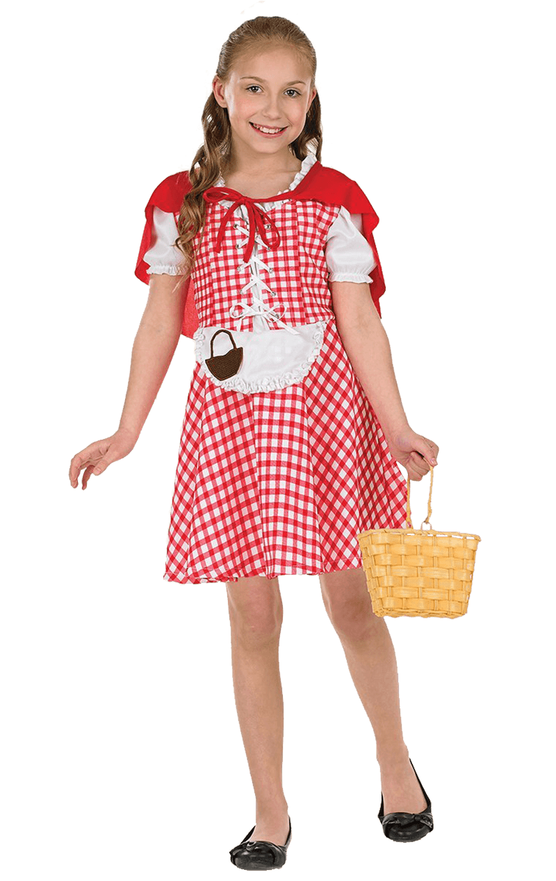 Kids Little Red Costume