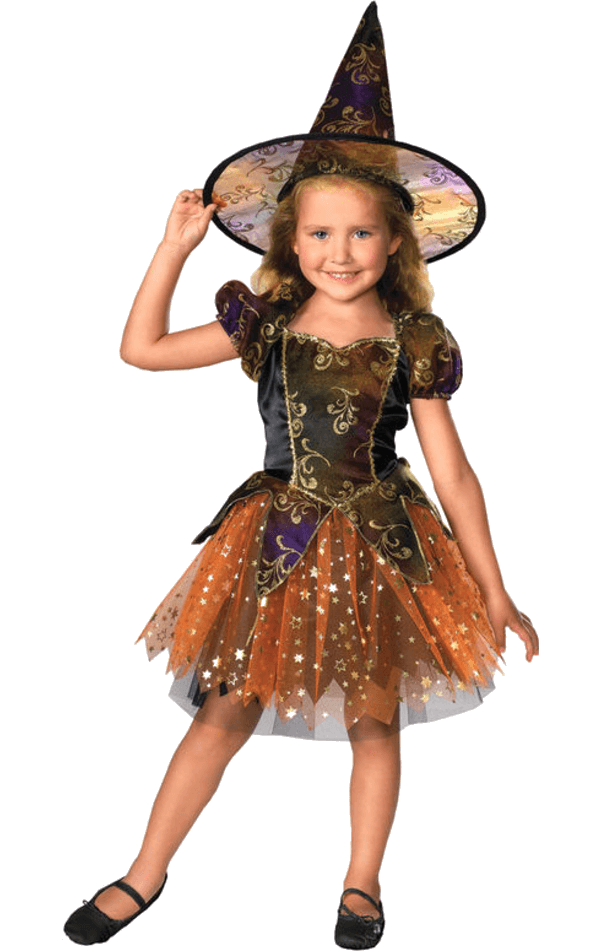 Child Halloween Witch Costume
