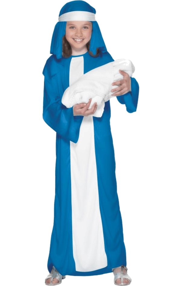 Girls Nativity Mary Costume