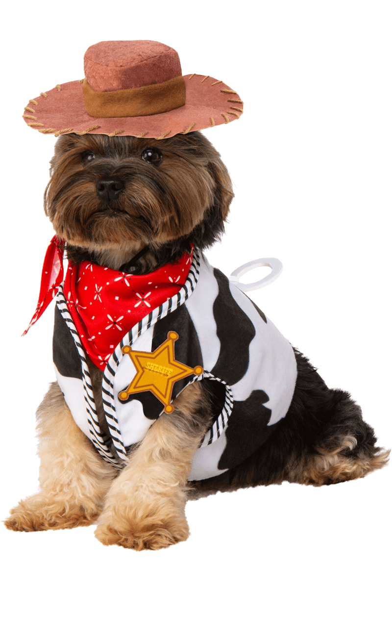 Cowboy Woody Dog Costume