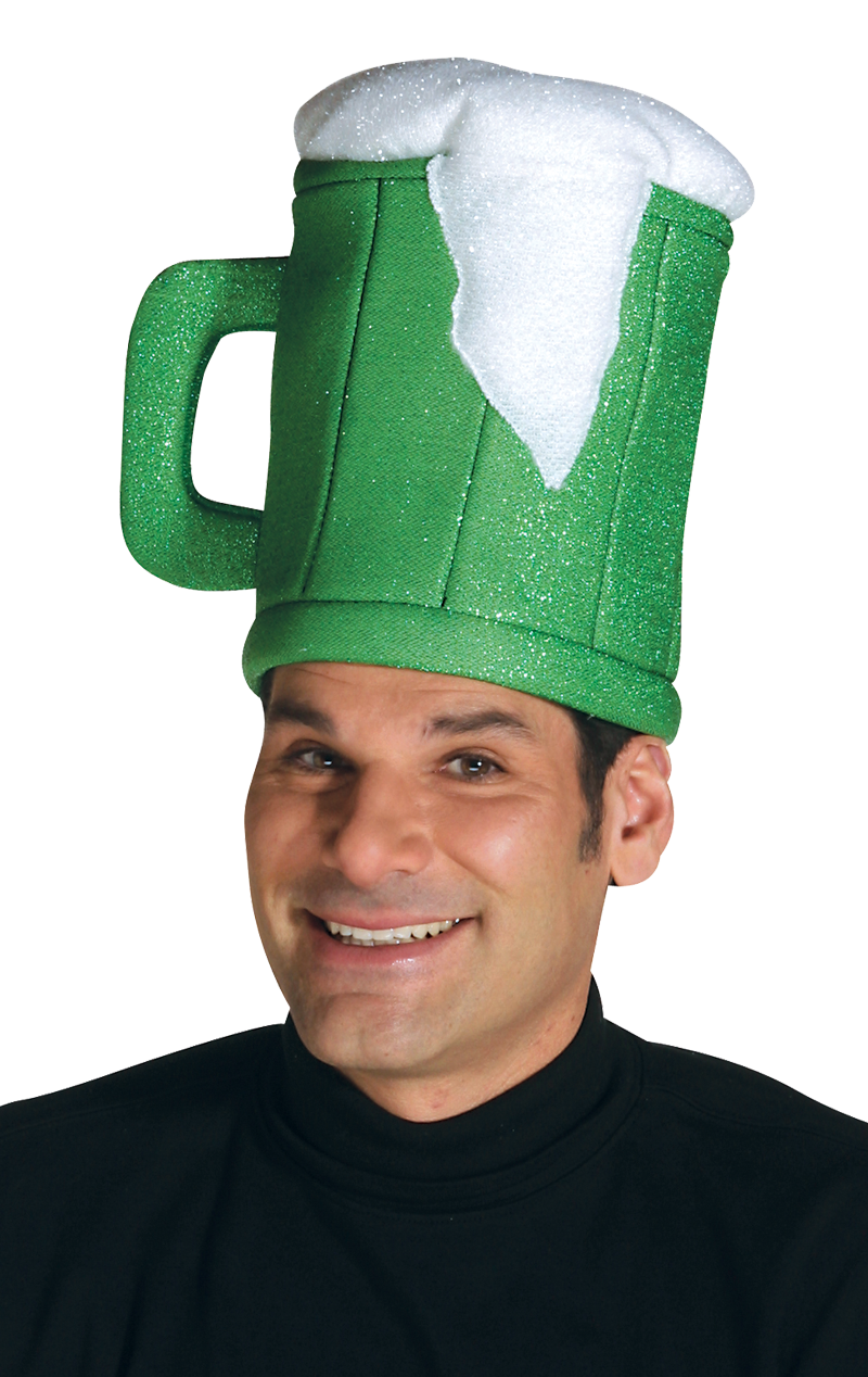 Green Beer Mug Hat