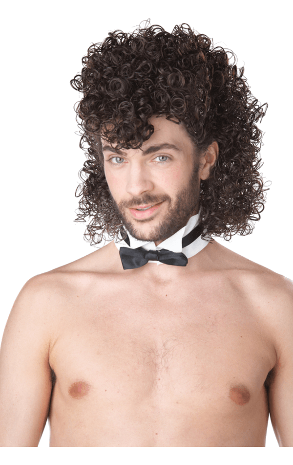 Male Stripper Wig -Brown