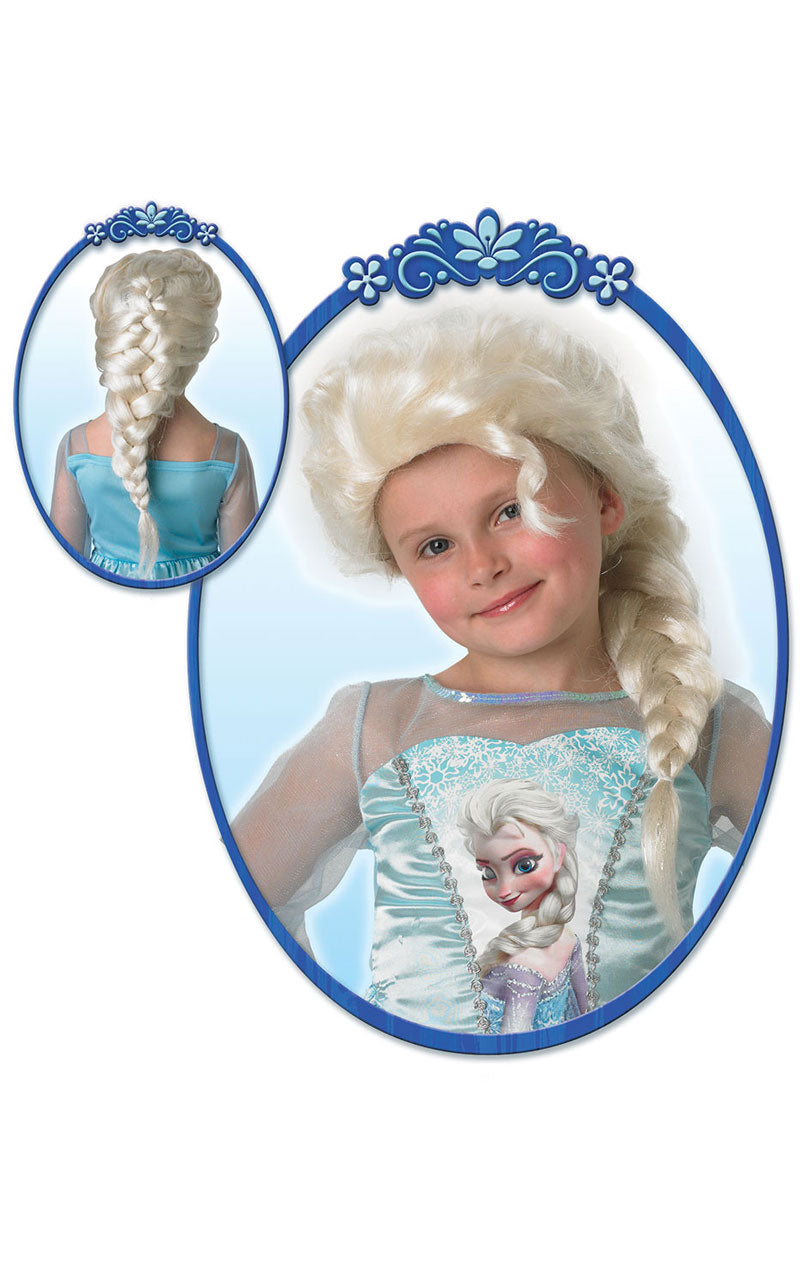 Child Disney Frozen Elsa Wig