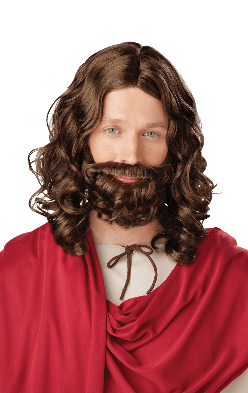 Jesus Wig and Beard Accessory