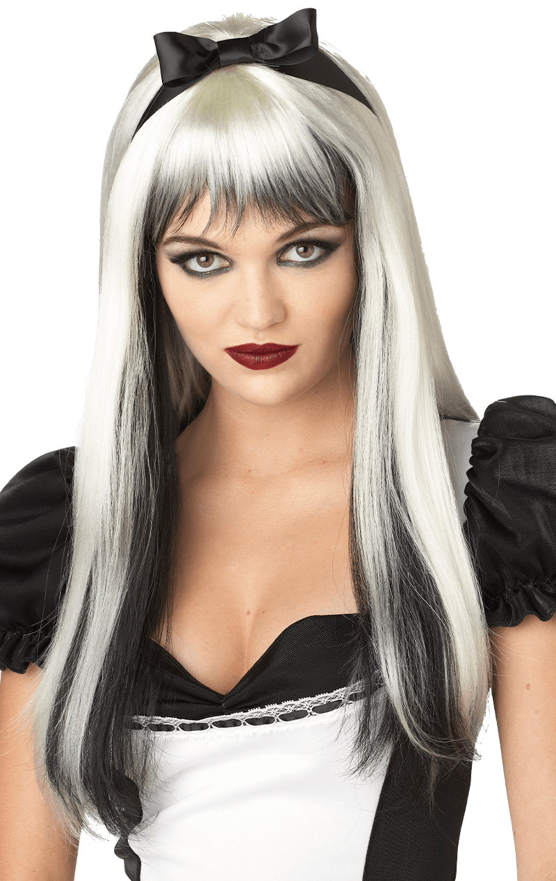 Enchanted Fairytale Black and Blonde Wig