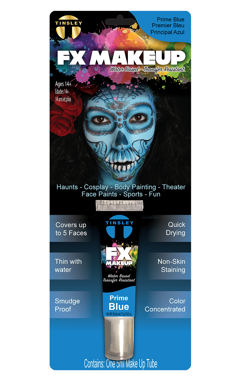 Blue FX Face Paint
