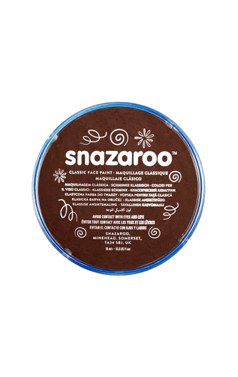 Snazaroo Dark Brown Face Paint