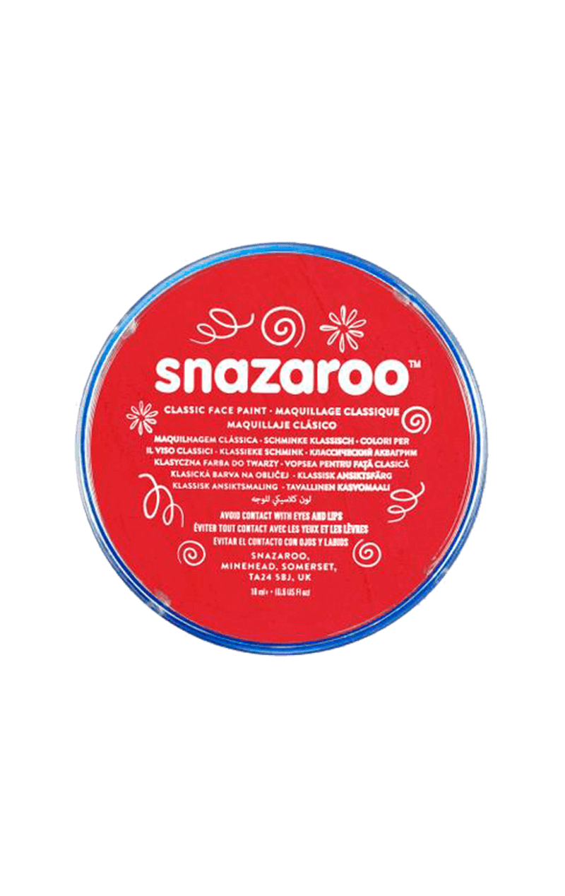 Snazaroo Red Face Paint