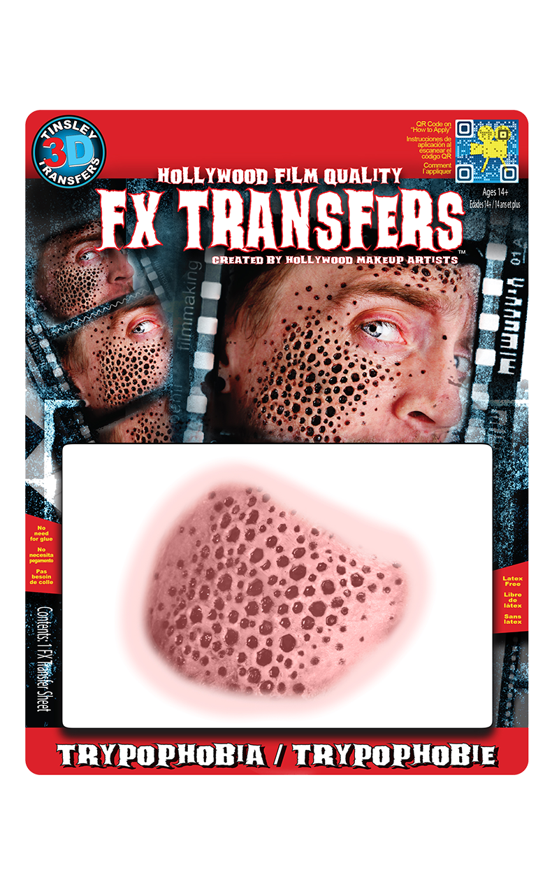 Trypophobia 3D Transfers Medium