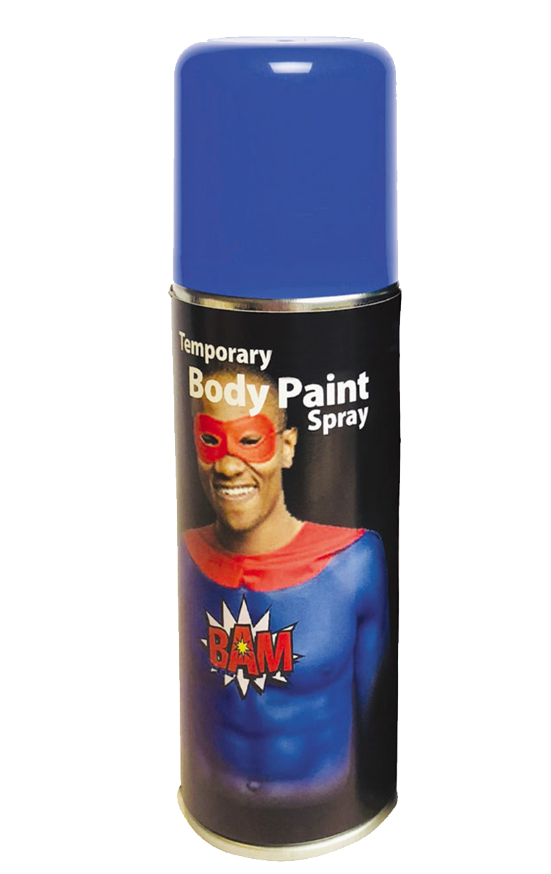Blue Body Spray Accessory