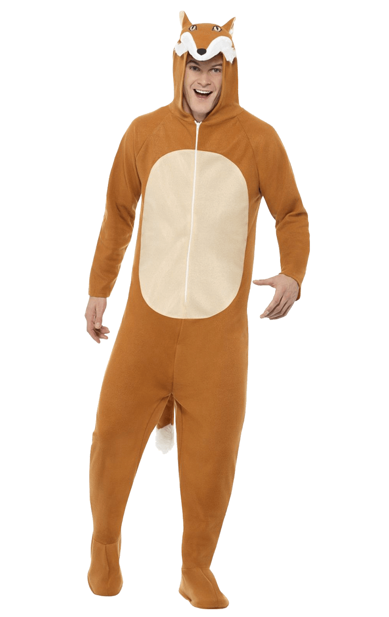 Adult Fox Onesie Animal Costume