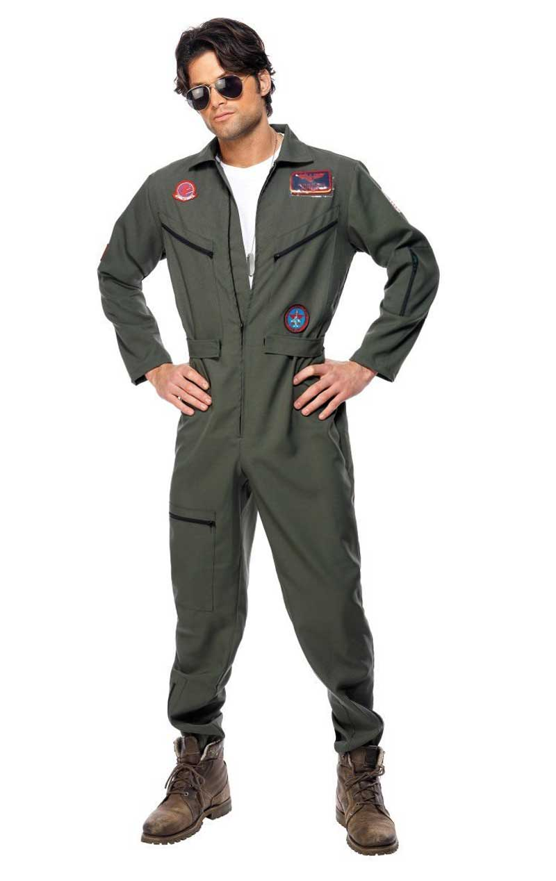 Mens Top Gun Movie Costume