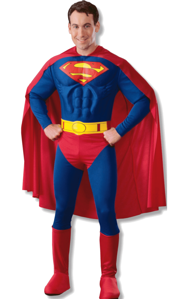 Adult Muscle Chest Classic Superman Costume