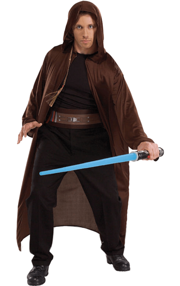 Adult Jedi and Lightsaber Accessory Kit