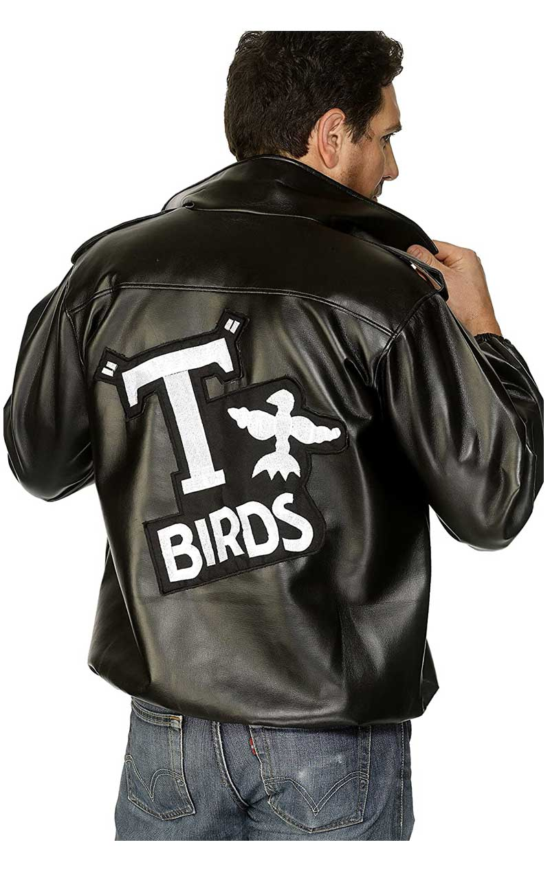 Mens Grease T Bird Jacket Costume