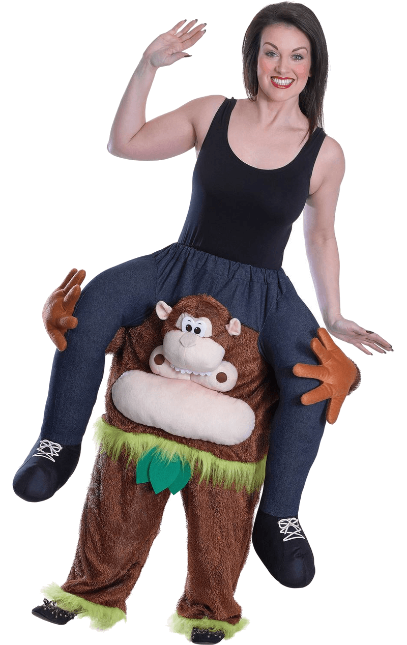 Adult Monkey Piggyback Costume