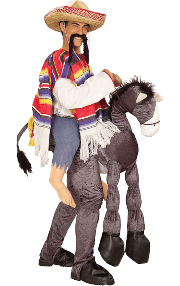 Adult Mexican With Donkey Costume