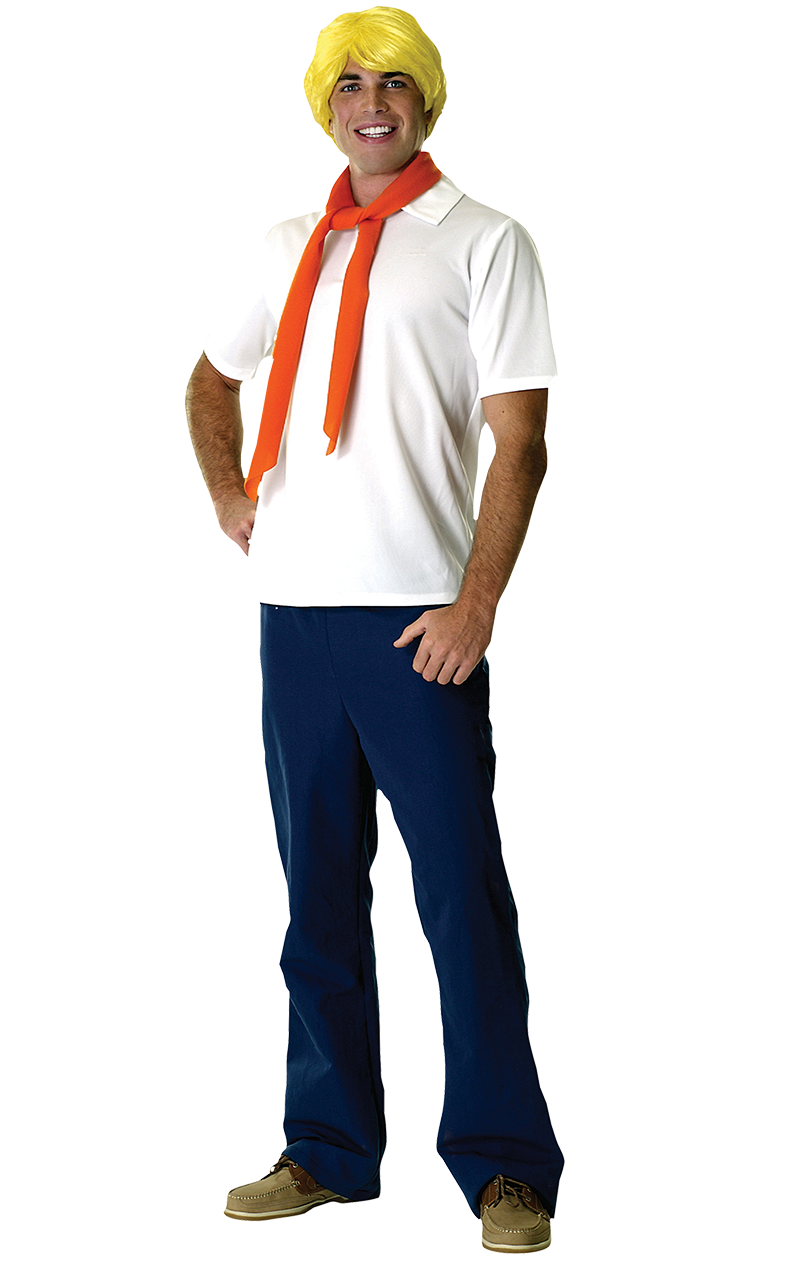Adult Fred Costume (Scooby-Doo)